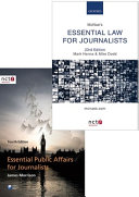 McNae's Essential Law for Journalists and Essential Public Affairs for Journalists Pack