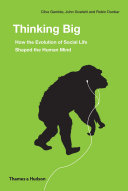 Thinking Big  How the Evolution of Social Life Shaped the Human Mind