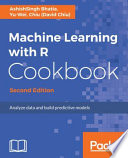 Machine Learning with R Cookbook - Second Edition