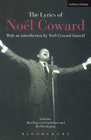 The Lyrics of Noël Coward