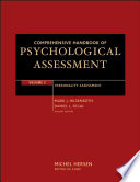 """Comprehensive Handbook of Psychological Assessment, Volume 2: Personality Assessment"" by Mark J. Hilsenroth, Daniel L. Segal, Michel Hersen"