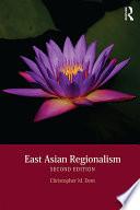 East Asian Regionalism Book