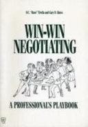 Win win Negotiating