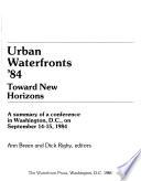 Urban Waterfronts '84