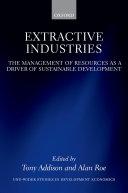 Extractive Industries Pdf/ePub eBook