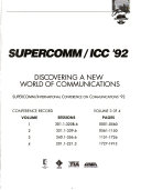 SUPERCOMM ICC  92