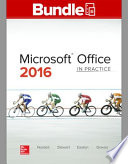 GEN COMBO LL MICROSOFT OFFICE 2016:IN PRACTICE; SIMNET OFFICE 2016 NORDELL SMBK