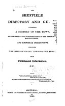 The Sheffield Directory and Guide