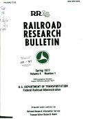 Railroad Research Bulletin
