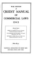 The Credit Manual of Commercial Laws Book