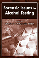 Pdf Forensic Issues in Alcohol Testing