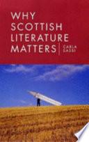 Why Scottish Literature Matters