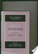 The Cambridge History of Judaism  Volume 1  Introduction  The Persian Period