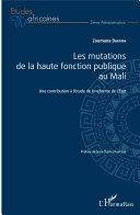 Pdf Les mutations de la haute fonction publique au Mali Telecharger