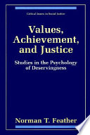 Values  Achievement  and Justice