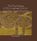 The Psychology of the Language Learner [Pdf/ePub] eBook