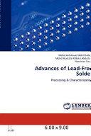 Advances Of Lead Free Solder