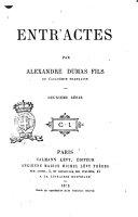 Entr'actes par Alexandre Dumas fils