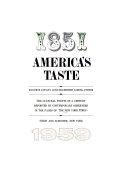 America s Taste  1851 1959