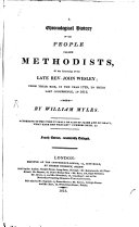 A Chronological History of the people called Methodists     from 1729   1812