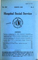 Hospital Social Service Book