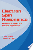 Electron Spin Resonance Book PDF