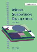 Model Subdivision Regulations