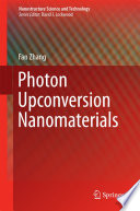 Photon Upconversion Nanomaterials Book
