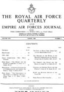 Royal Air Force Quarterly and Commonwealth Air Forces Journal