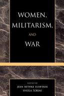 Women  Militarism  and War