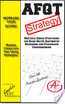 Afqt Test Strategy Winning Multiple Choice Strategies For Increasing Your Score On The Armed Forces Qualifications Test