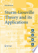 Sturm Liouville Theory and its Applications