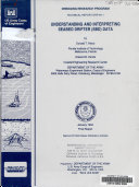 Understanding And Interpreting Seabed Drifter Sbd Data Book PDF