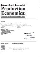 International Journal of Production Economics