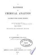 A Handbook of Chemical Analysis