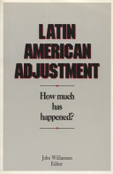 Latin American adjustment