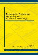 Mechatronics Engineering, Computing and Information Technology [Pdf/ePub] eBook