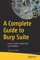 A Complete Guide to Burp Suite Book
