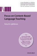 Focus On Content Based Language Teaching