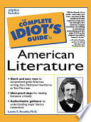 The Complete Idiot S Guide To American Literature Book PDF