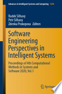 Software Engineering Perspectives in Intelligent Systems Book