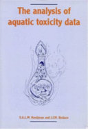 The Analysis of Aquatic Toxicity Data