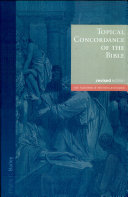 Topical Concordance of the Bible Pdf