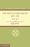 The French Monarchy 1483 1789