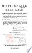 Dictionnaire de la fable ou Mythologie grecque, latine Pdf/ePub eBook
