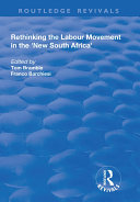 Rethinking the Labour Movement in the 'New South Africa' Pdf/ePub eBook