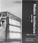Modern Architecture Since 1900 Book PDF