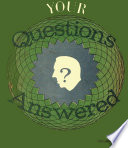Your Questions Answered Volume Iv Book