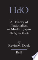 A History Of Nationalism In Modern Japan Book PDF