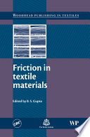 Friction In Textile Materials Book PDF